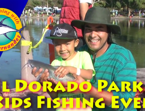 Free Kids Fishing Report From Last Saturday's Event